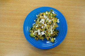 Healthy Veggie Scramble
