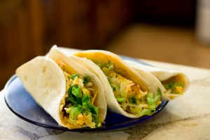Easy Curry Tacos
