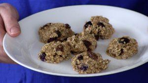 Oatmeal Raisin Blueberry Cookies