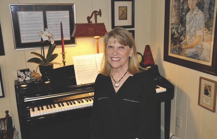 Composer Shares Joy with Patients